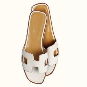 Hermès Oran Sandals 40.5